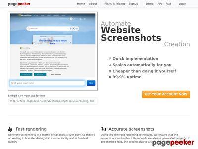 Skaczący katalog www