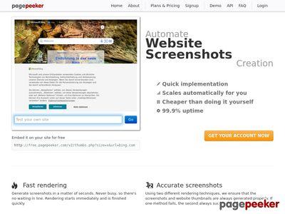 Katalog web